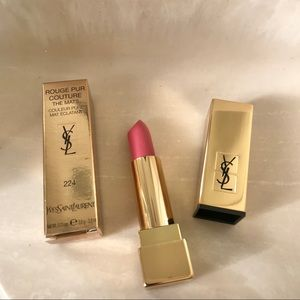 New Yves Saint Laurent lipstick